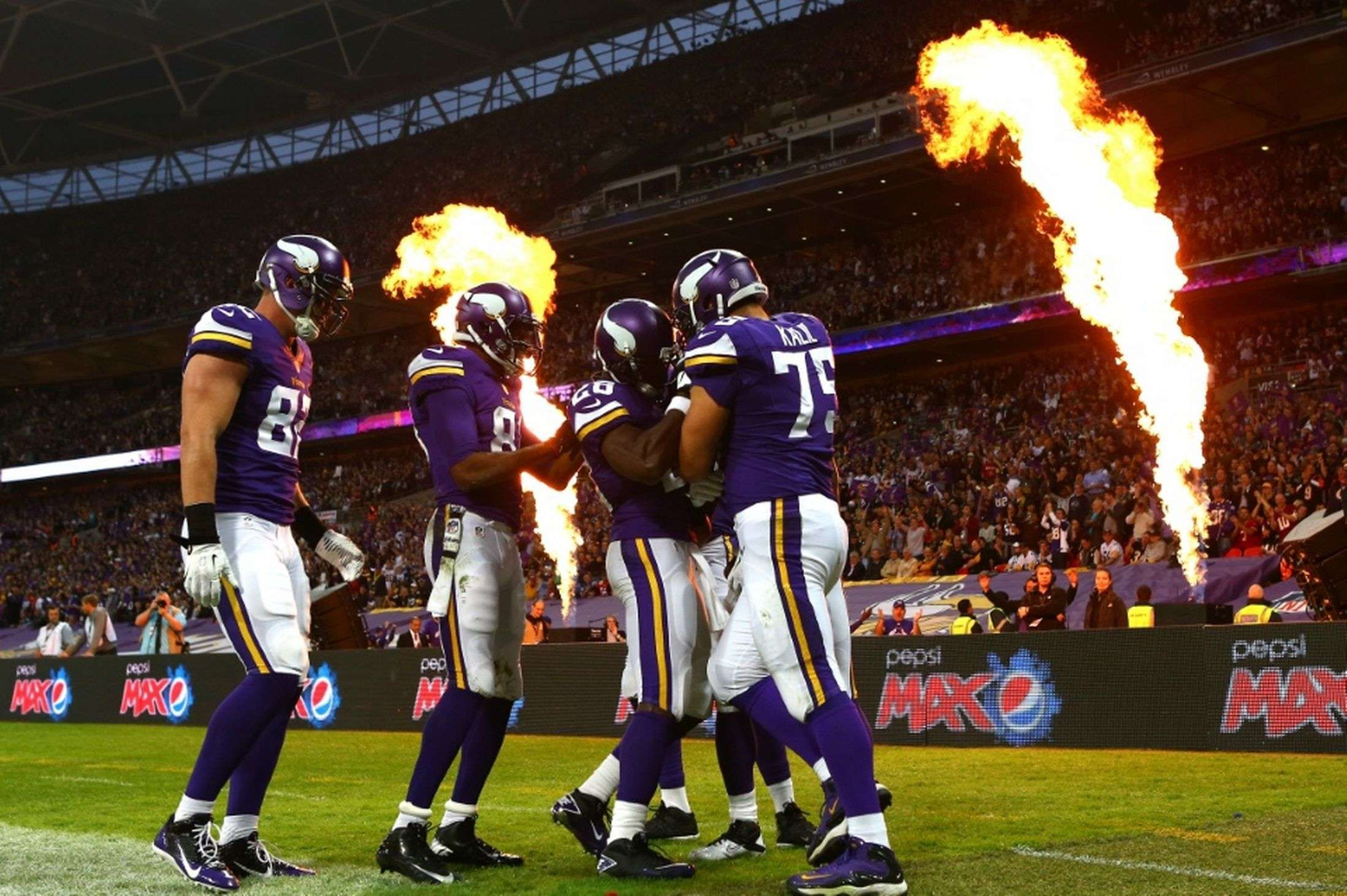 Minnesota Vikings Team Wallpaper NFL Wallpaper HD NFL