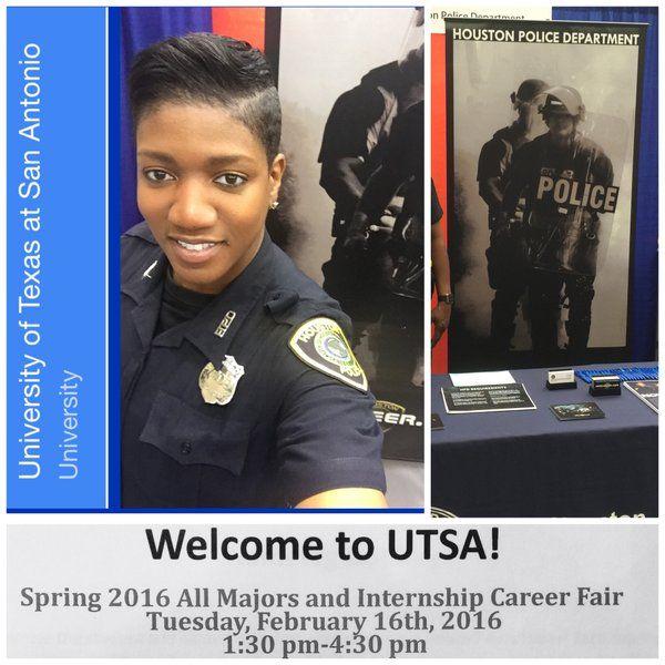 We are @UTSA all majors career fair TODAY until 4:30p  #UTSA