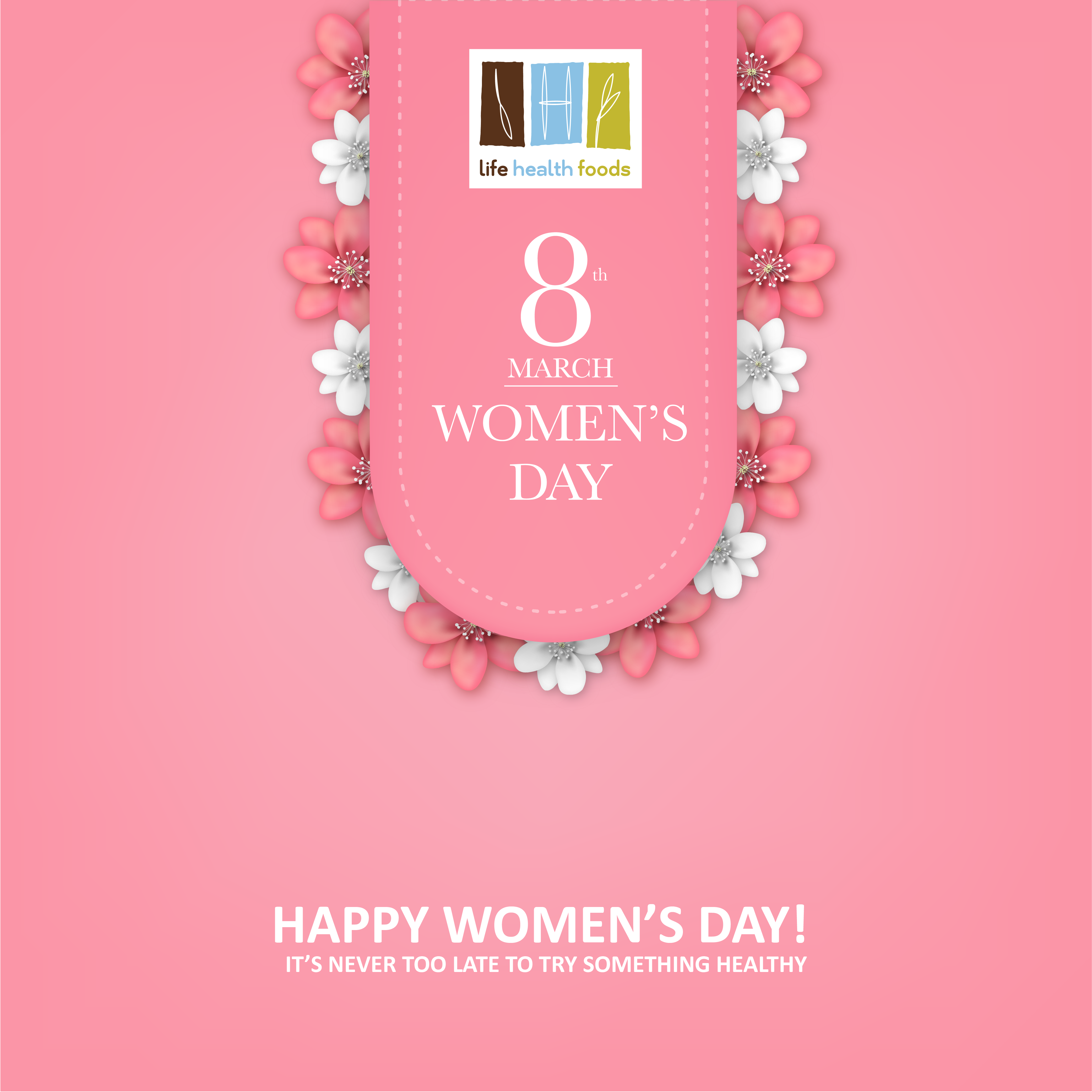 1293fc5913b This International Women's Day treat yourself to something #healthy, make a  wise choice with Life Health Foods - Almond Fresh. Celebrate the essence of  ...