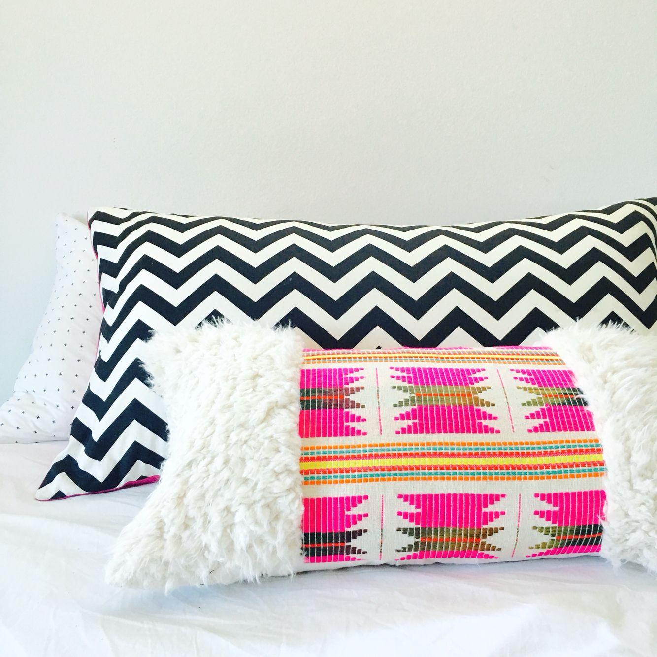 Etsy Throw Pillows Pink Boho Pillow Tribal Aztec Pillow Https Wwwetsycom Shop