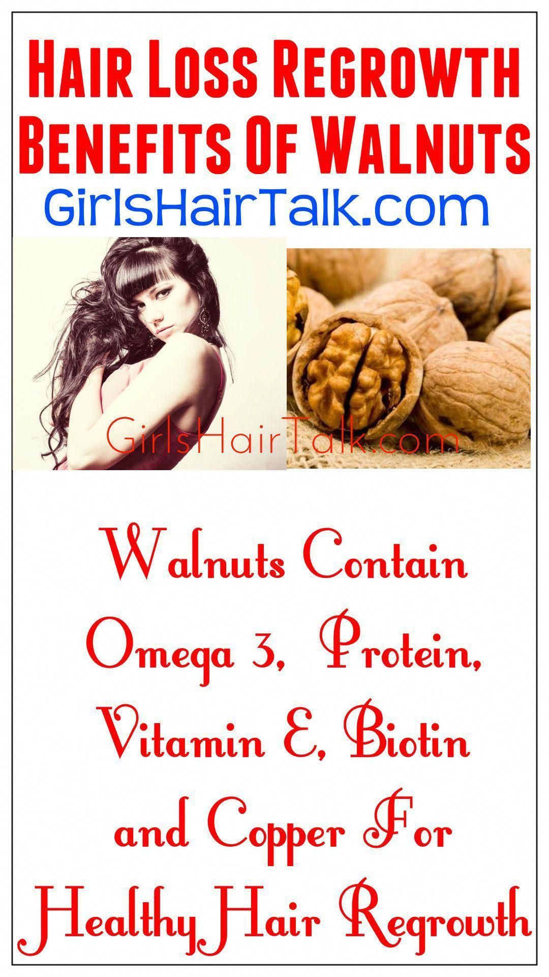 Dessert Recipe For Hair Loss Regrowth Benefits of walnuts