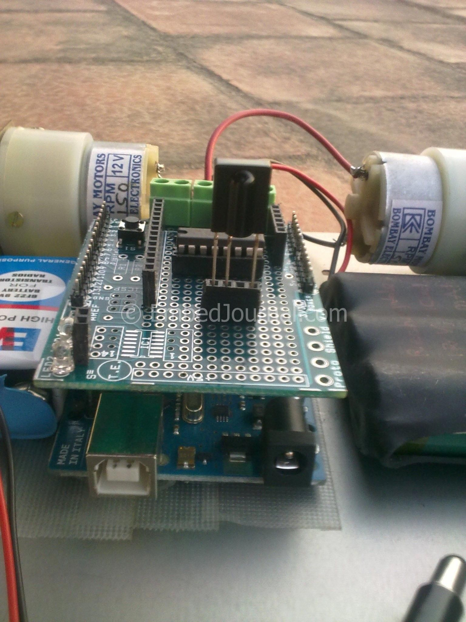 Make Your Own Rc Robot Car With Just Component Lying Around The Rc