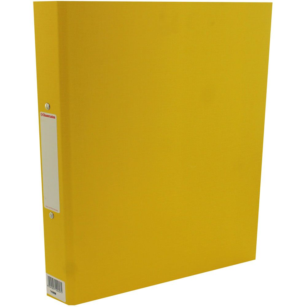 Classmates Yellow Lever Arch File Lever Arch Files File