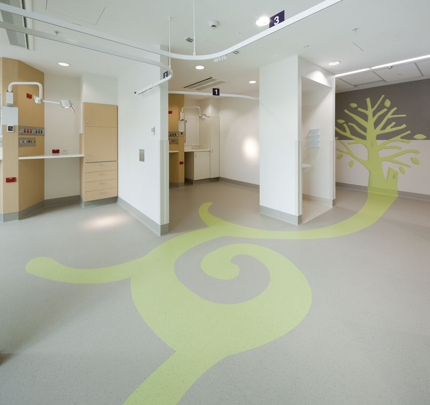 Sunshine Hospital Healthcare Flooring Design Gerflor