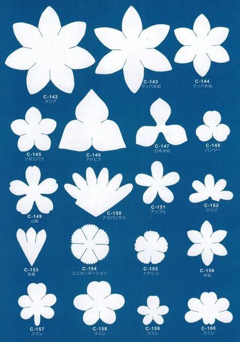 Трафареты: цветы из фоамирана своими руками | 33 Поделки