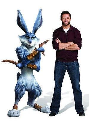 My Favourite Character Hugh Jackman Easter Bunny Rise Of The Guardians