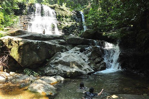 Kubah National Park Waterfall 004 Waterfall Kuching National Parks