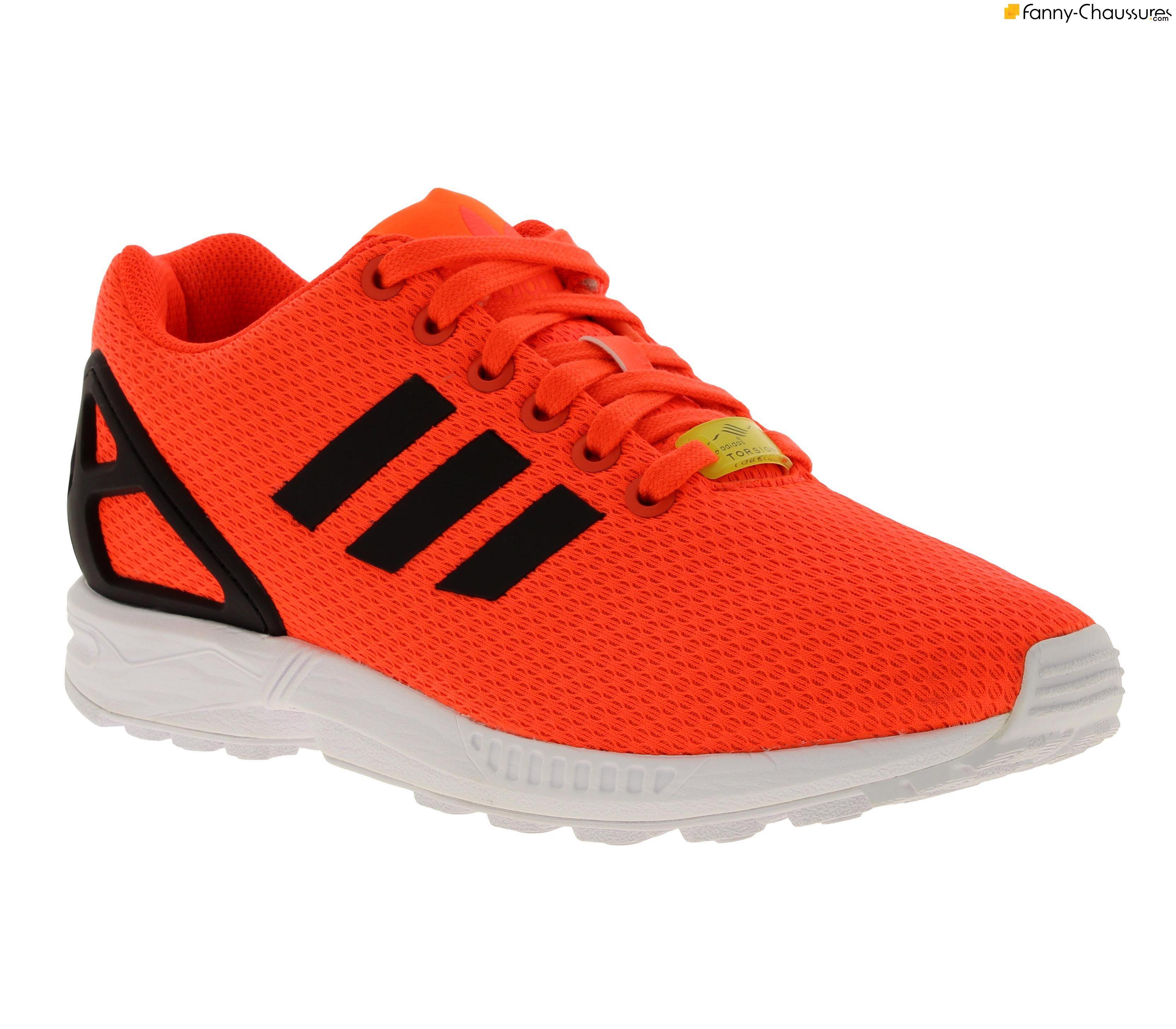 adidas zx flux orange femme