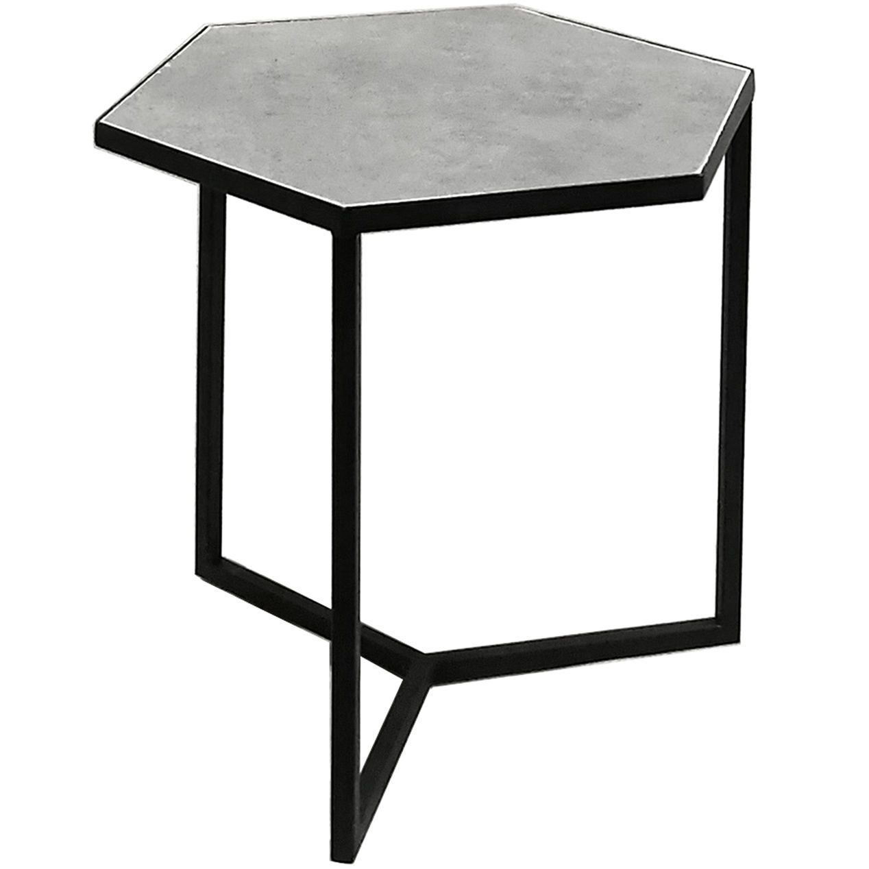 20in Hexagon Stone Table At Home Dining Room Table Patio