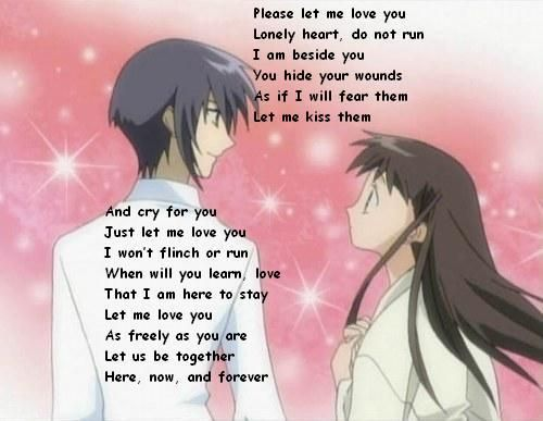 Anime Poems | Green - love_poem_yuki_and_tohru.jpg | Fruits Basket ...