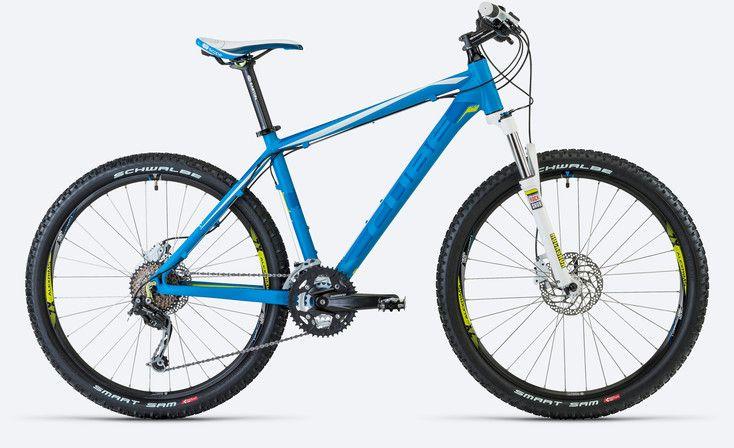 half price new arrive various colors CUBE Analog 26 blue   bikes & bike stuff   Hardtail mountain ...