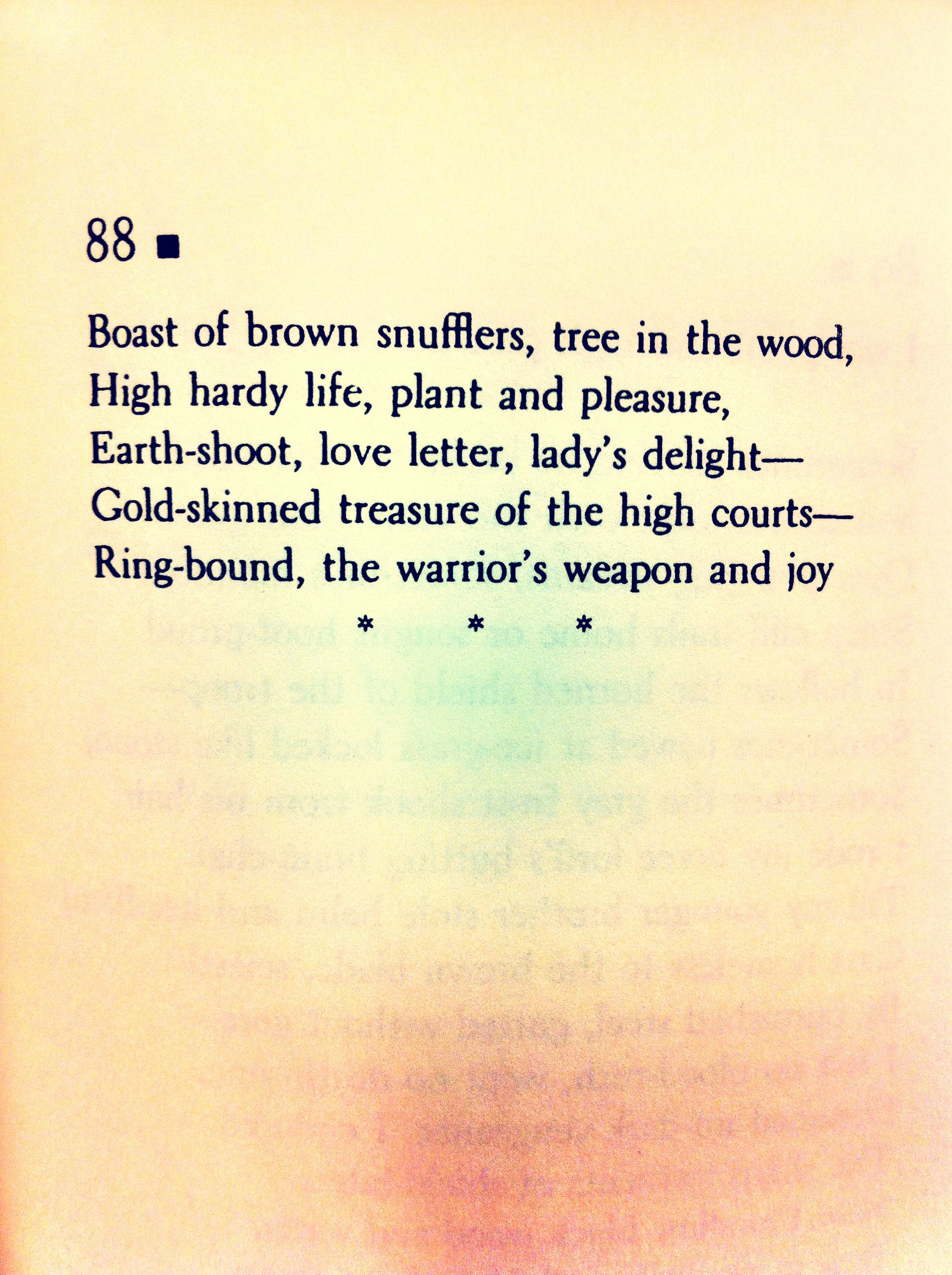 A Feast Of Creatures Anglo Saxon Riddle Songs Translated By Craig Williamson Anglo Saxon What Is Life About Love Letters