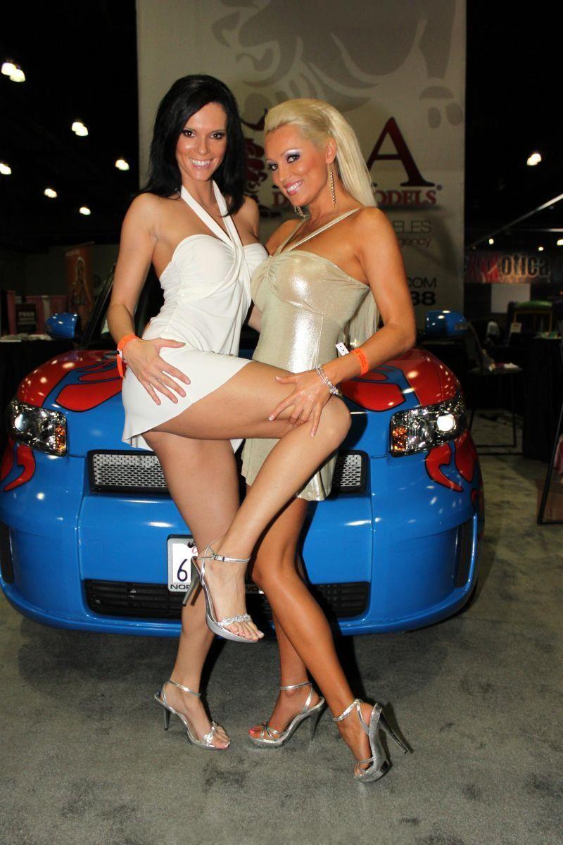 Big booty car show girl