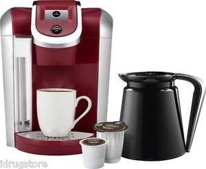 Keurig 2 0 K450 K Cup Machine K Carafe Coffee Maker Brewer Red Brand New | eBay