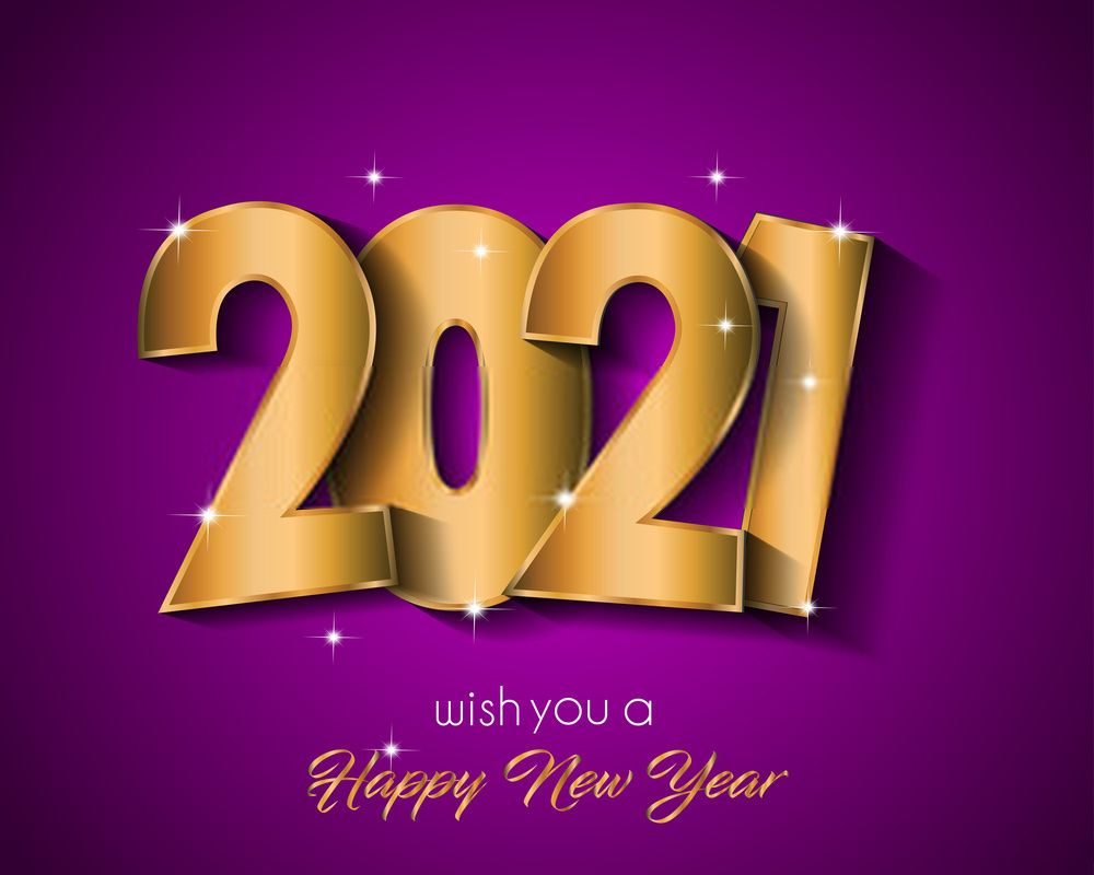 Free Happy New Year 2021 Wallpaper Images Happy New Year Wallpaper Happy New Year Images New Year Images New year 2021 orange hd background