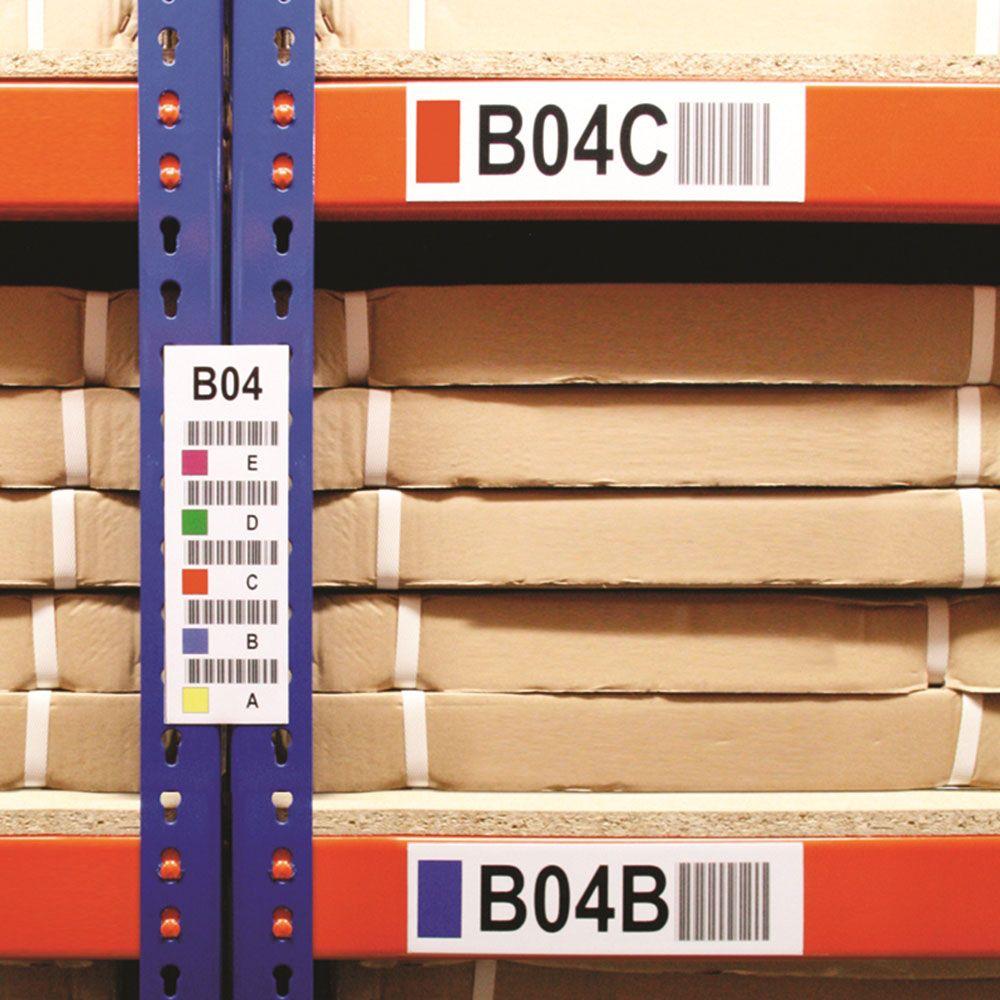 Beam & Shelf location Code Labelling Logistics in 2019