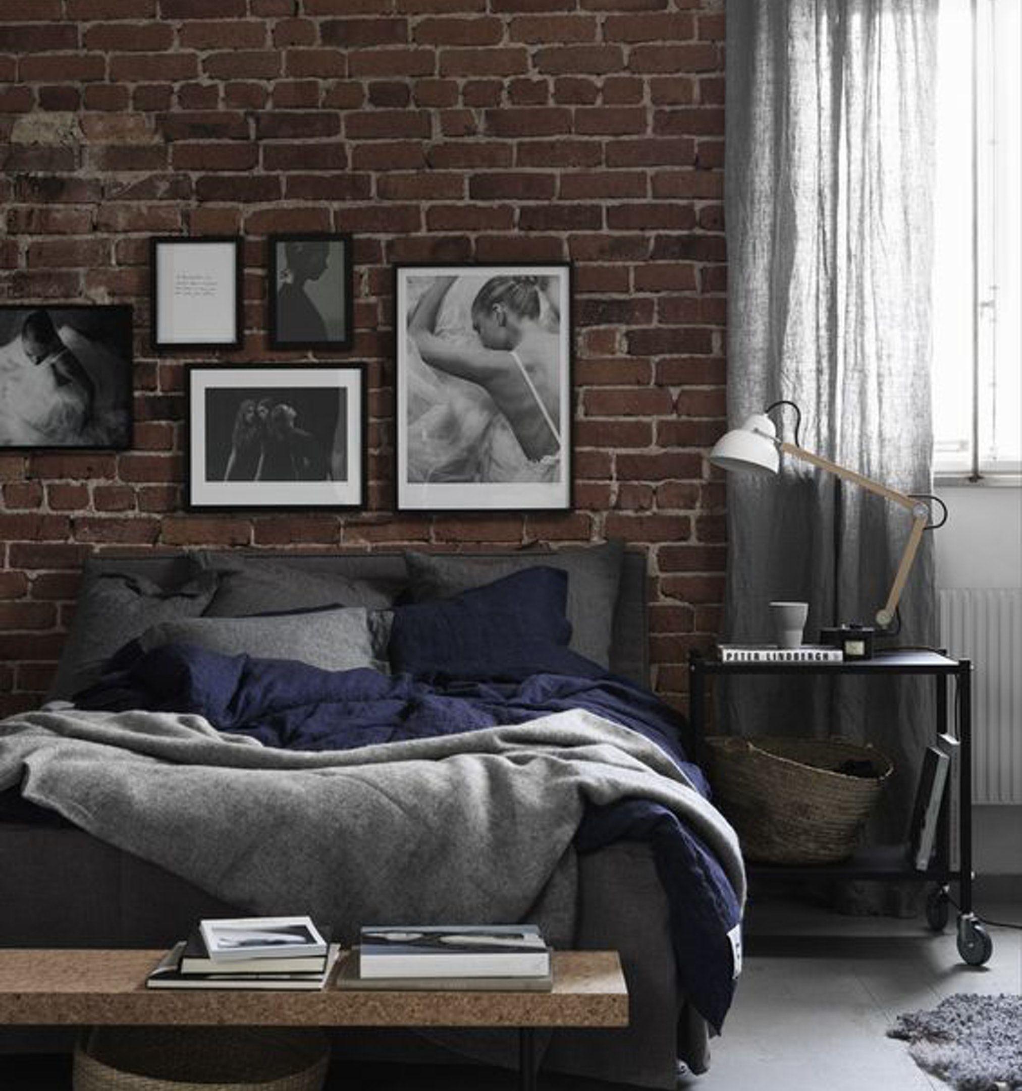 Interior Design Style Quiz Brick wall bedroom, Modern