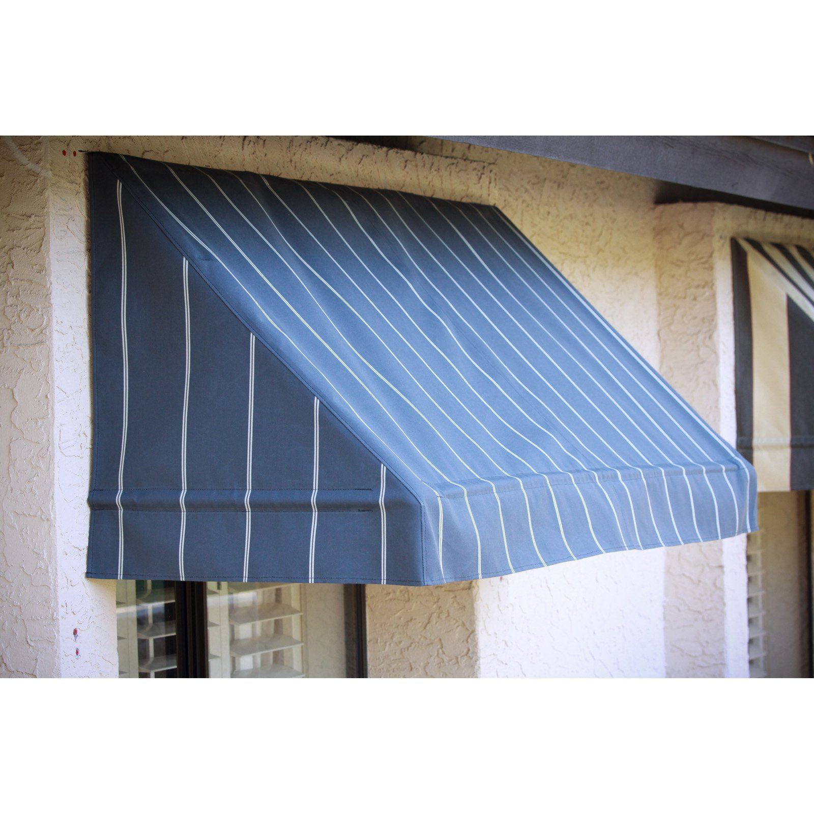 Awnings In A Box Classic Awning 4 Ft Cocoa 462727 Products