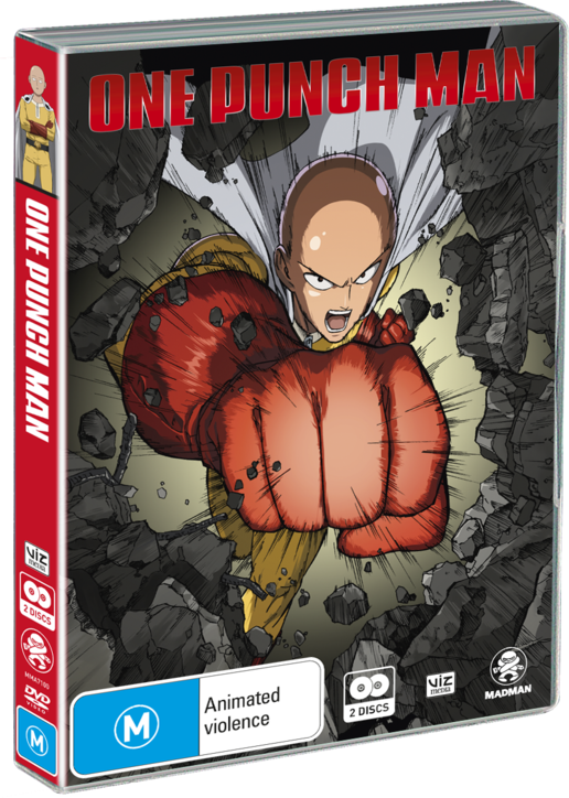 One Punch Man DVD Anime Complete TV Series 112 END + OVA