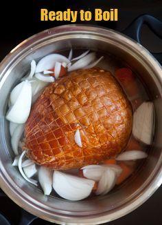 Easy Ways To Cook Gammon Roast With Glaze Roast Gammon Recipe Recipe Roast Gammon Gammon Recipes Christmas Gammon Recipes