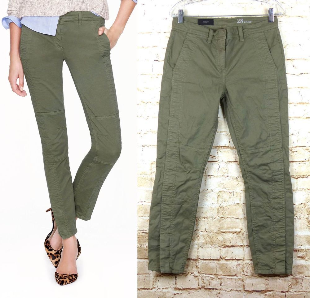 Nwt J Brand Mona Mid-rise Wide Leg Chino Size 26 Durable In Use Pants
