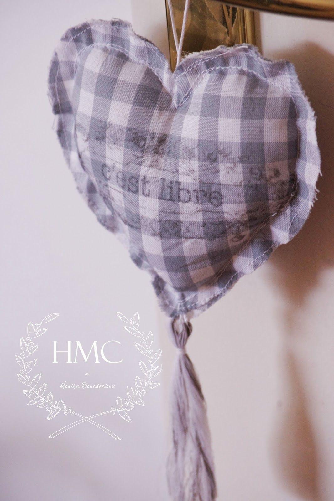 Happiness is Homemade: Lavender Hearts as Door Hanger