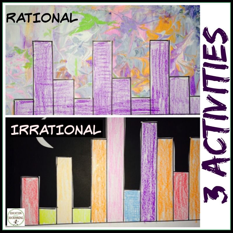 Pi Day Activities Rational Irrational Numbers Distance