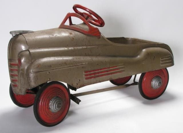 Murray Pedal Tractor Restoration : Murray ohio steelcraft pedal car vintage toys games