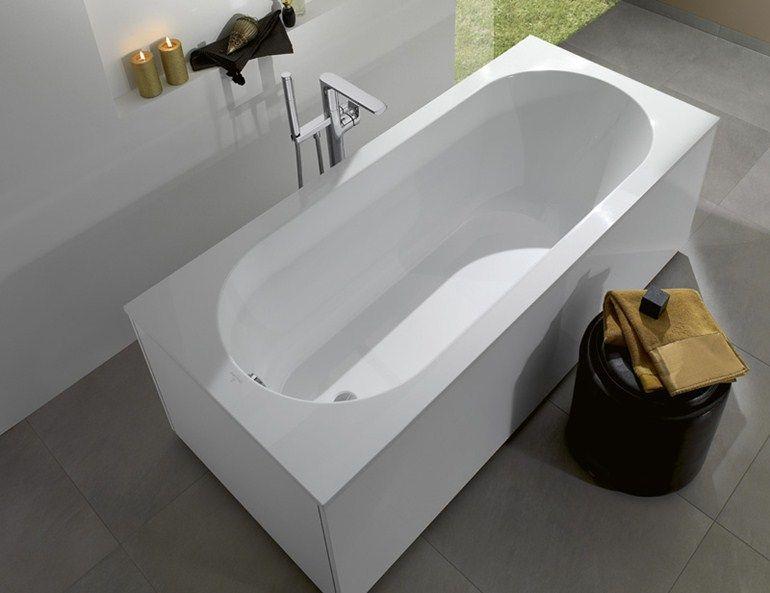 Oberon villeroy & boch vasca da bagno in quaryl® 160 x 75 170 x 70