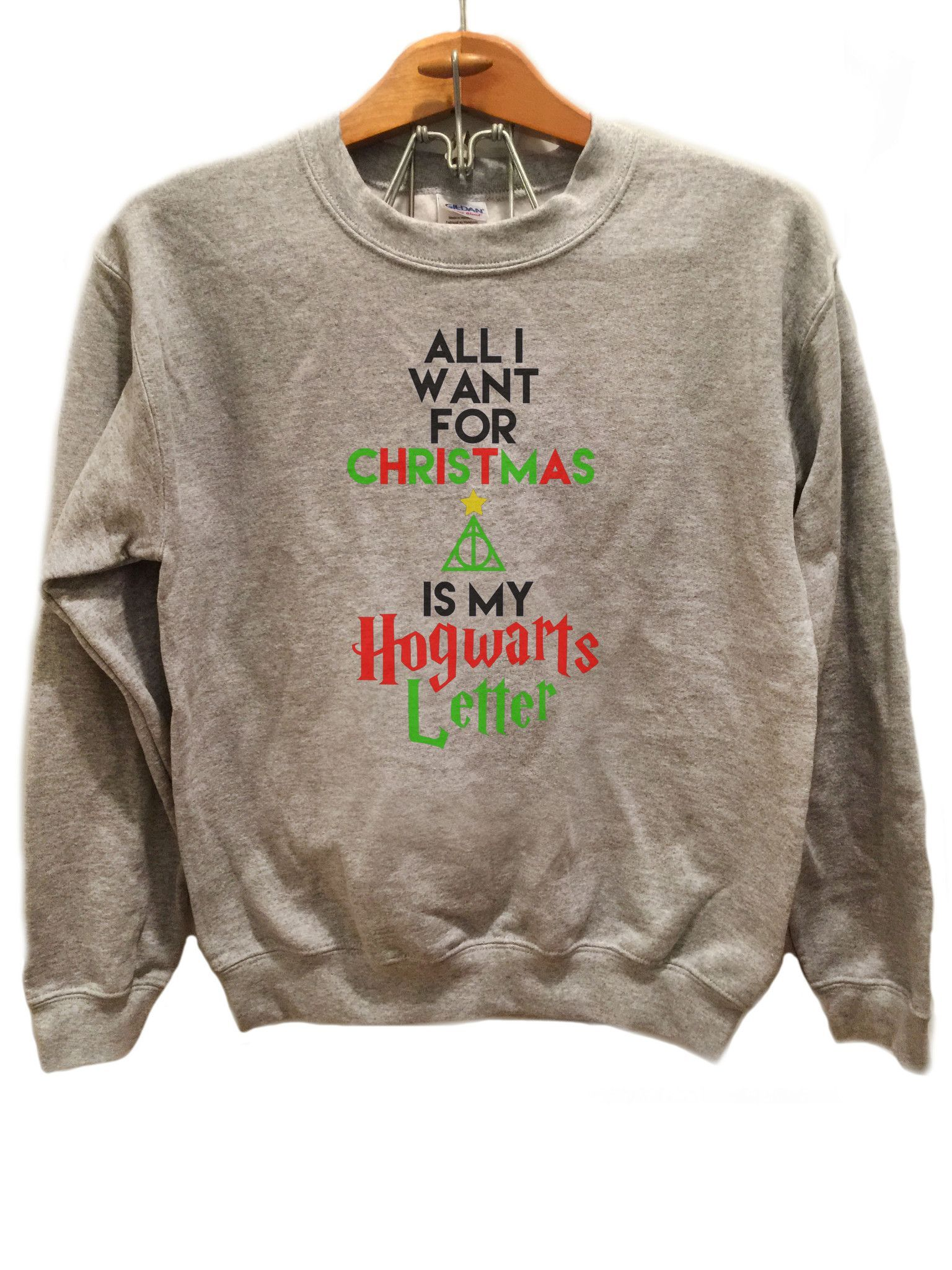 All I want for Christmas is my Hogwarts Letter Harry Potter