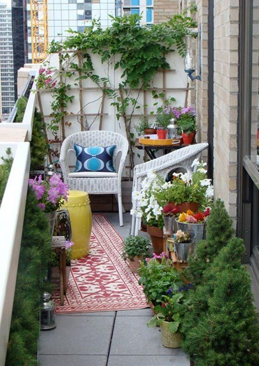 Small Verandah Ideas Small Balcony Garden Small Balcony Design Small Porch Decorating