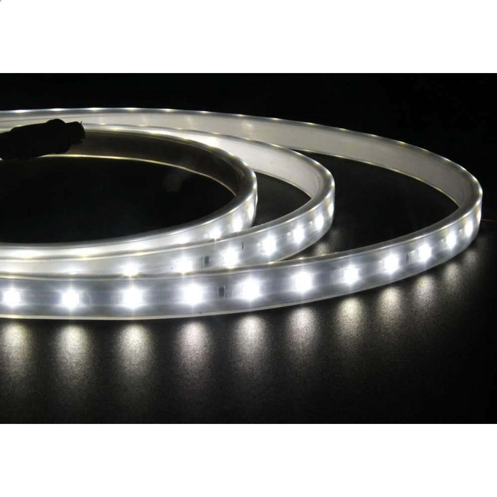 Led Strip Lights Home Depot Null 10 Ftbright White Silicone Flexible Led Strip Light Kit