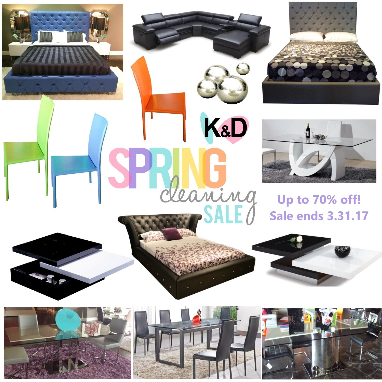 Spring Cleaning Sale Going On Now Save Up To 70 Off On Select Items Offer Is Over 3 31 17 Houst Houston Furniture Contemporary Furniture Home Furniture