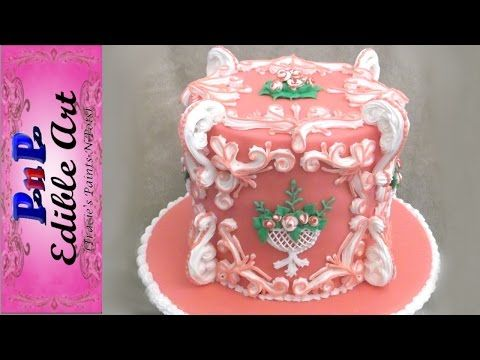 CAKE DECORATING TUTORIALS TECHNIQUES PIPING ROYAL ICING BORDERS