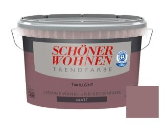 Schoner Wohnen Trendfarbe 2 5 L Twilight Matt Schoner Wohnen Trendfarbe Schoner Wohnen Farbe Schoner Wohnen Wandfarbe