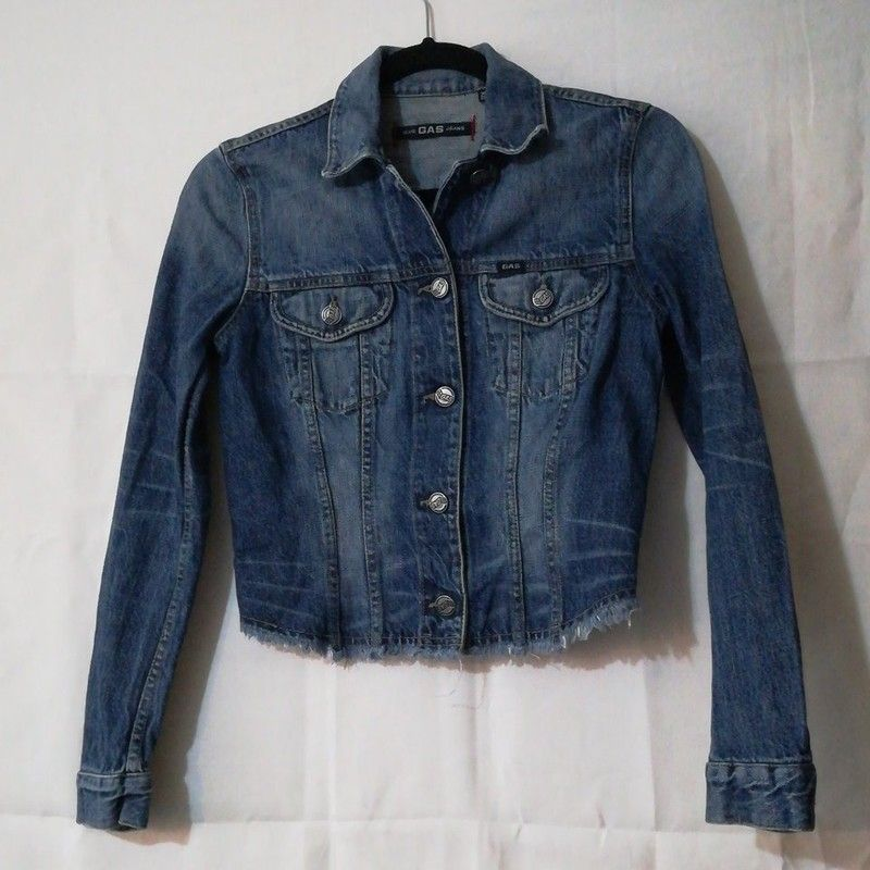 252e18e9 Blue Gas Jeans Jacket UK Size XS | Rebellion Rd. | Jackets uk ...