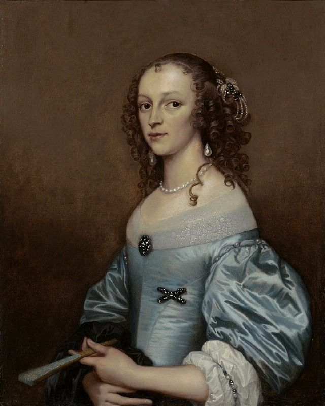 1650s Lady by Adriaen Hannemann (location unknown to gogm