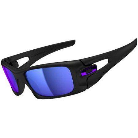 89051a0e99a Oakley Crankcase Men s Lifestyle Designer Sunglasses - Matte Black Violet  Iridium   One Size Fits All