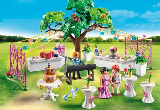 Playmobil bruiloftsfeest playmobil playmobil wedding