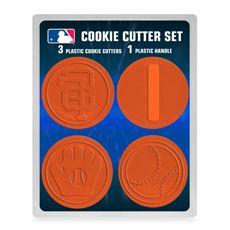 Is It Baseball Season Yet San Francisco Giants Sf Giants Baby Cookie Cutter Set