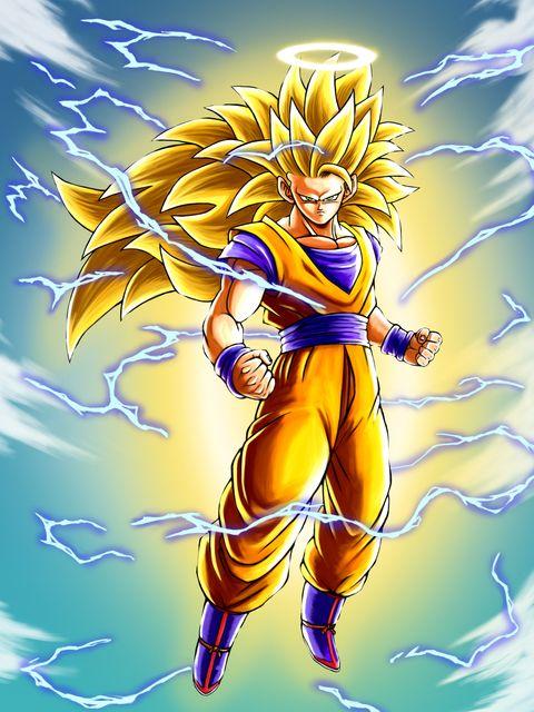 Goku ssj3 goku - Son gohan super saiyan 4 ...