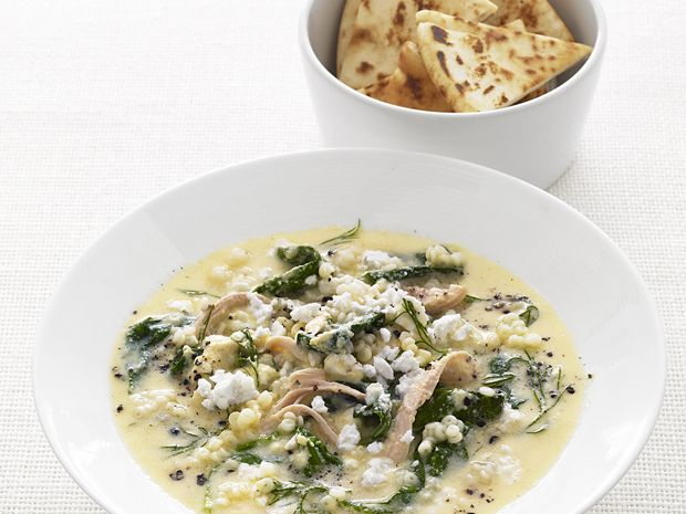 Chicken And Egg Soup With Pastina From Foodnetwork I Am Hungry