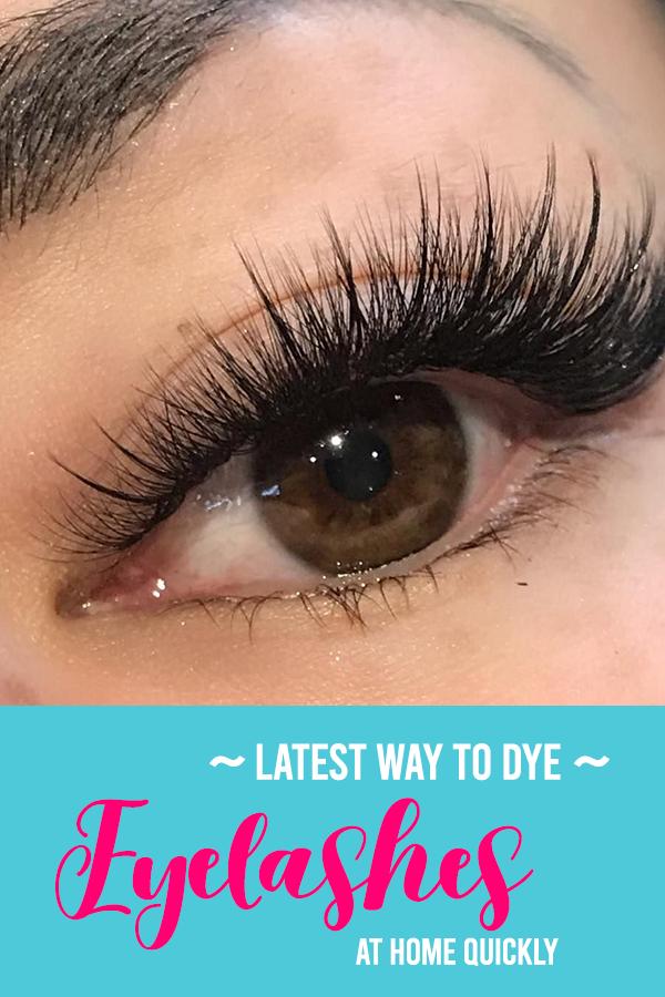 Latest Way To Dye Eyelashes At Home in 2020 | Eyelashes ...