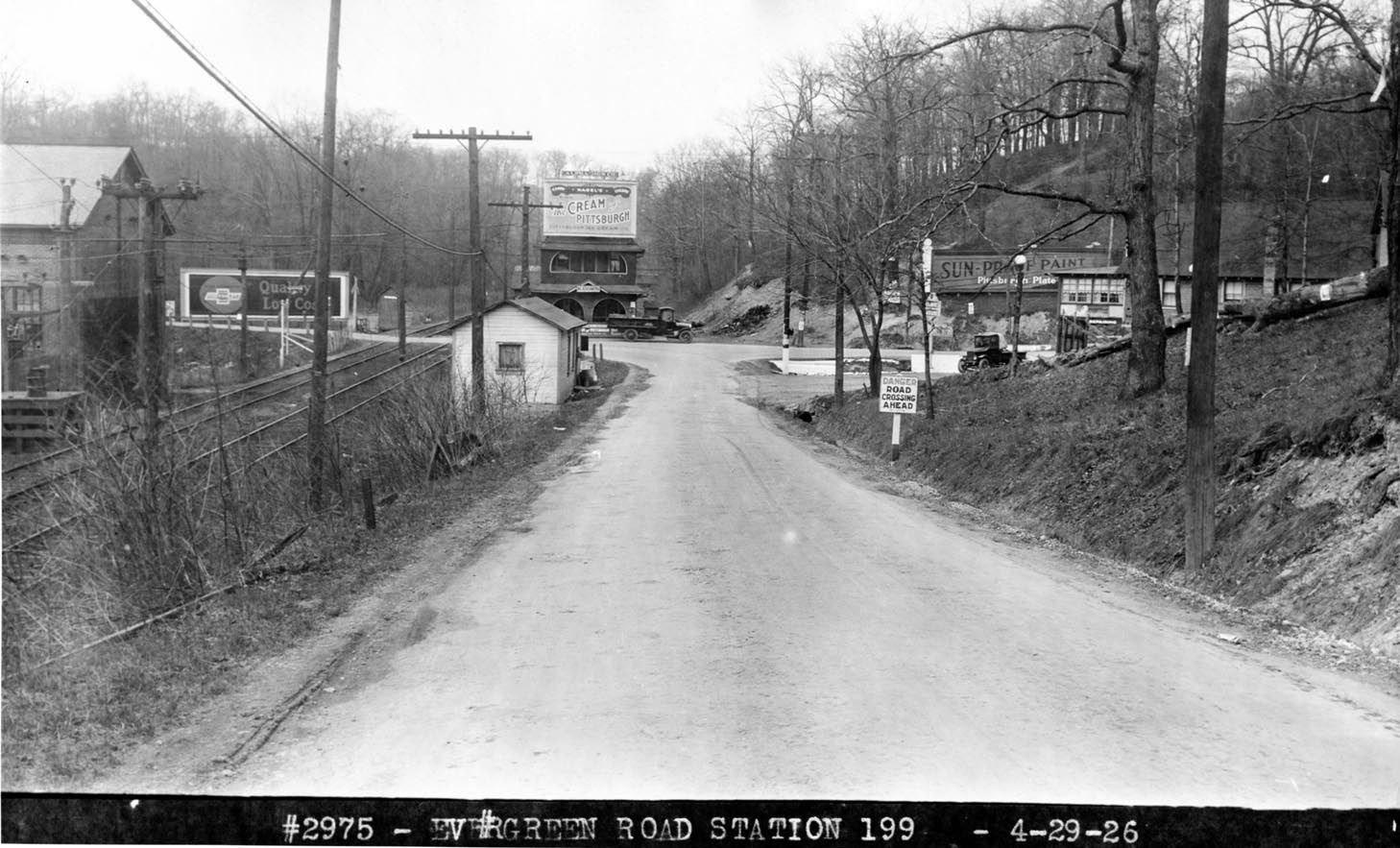 Babcock boulevard looking toward keown station this is