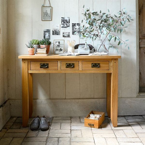 Oakland Console Dressing Table Set From The Cotswold Company Free