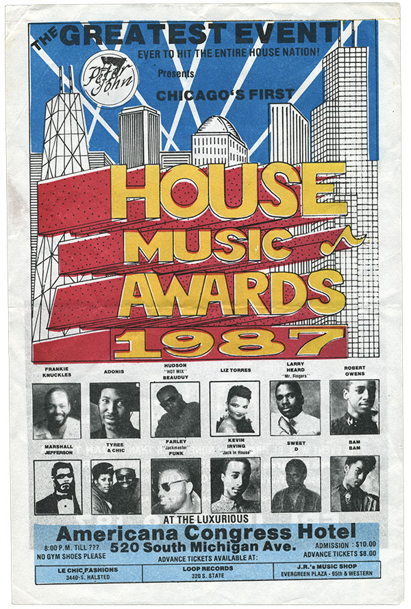 Vintage Posters From The Early Days Of Chicago House In Pictures In 2020 Chicago House Vintage Posters Chicago
