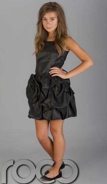 Girls Black Dress Prom Dresses Girls Puffball Dress Teen Dresses