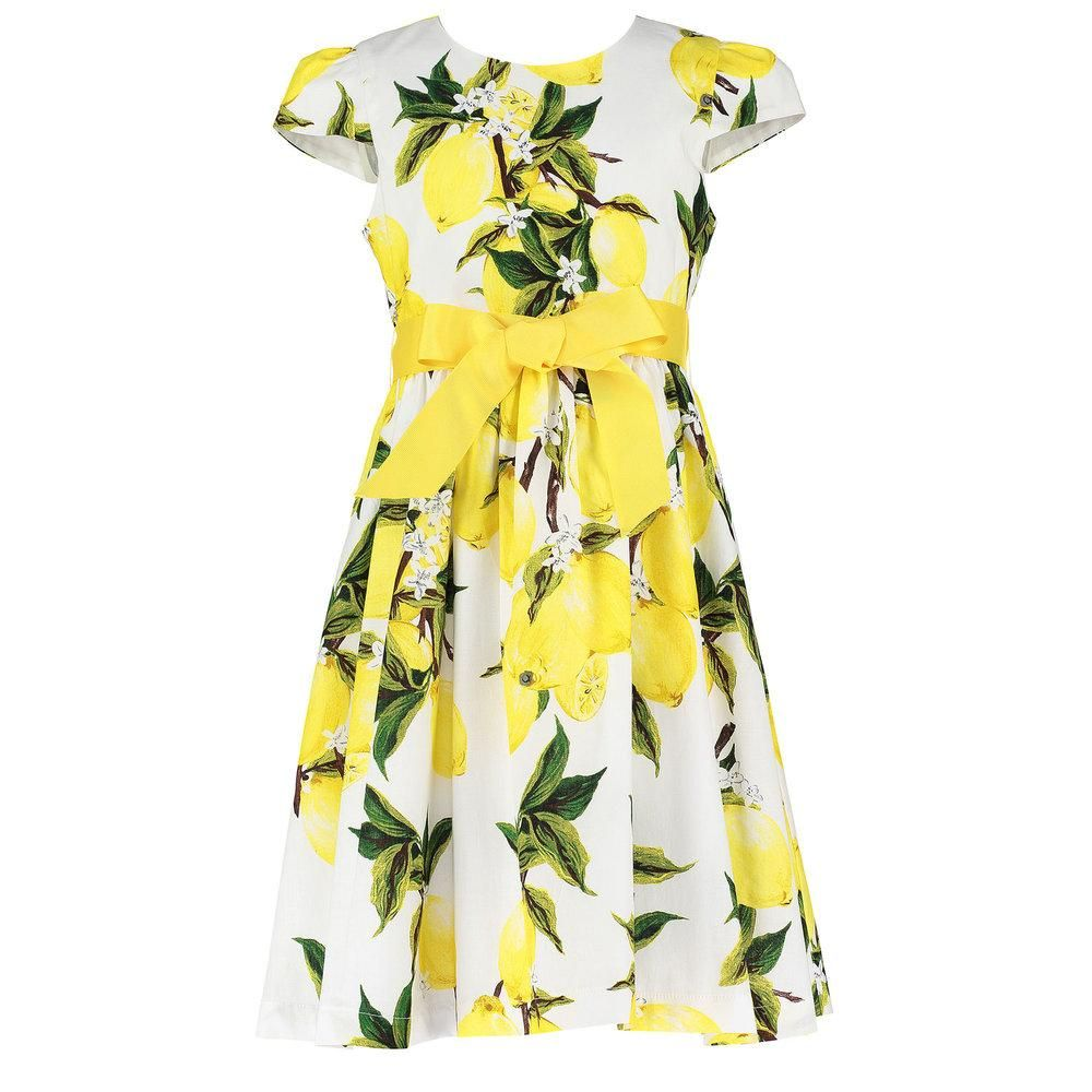 Holly Hastie Lemon Dress White Dress Party Dresses Lemon Dress [ 1000 x 1000 Pixel ]