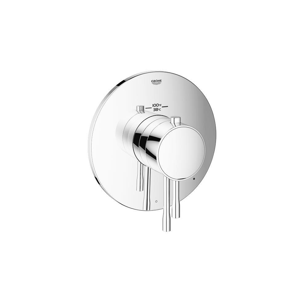 Grohe Essence New Single Handle Single Function Thermostatic Valve