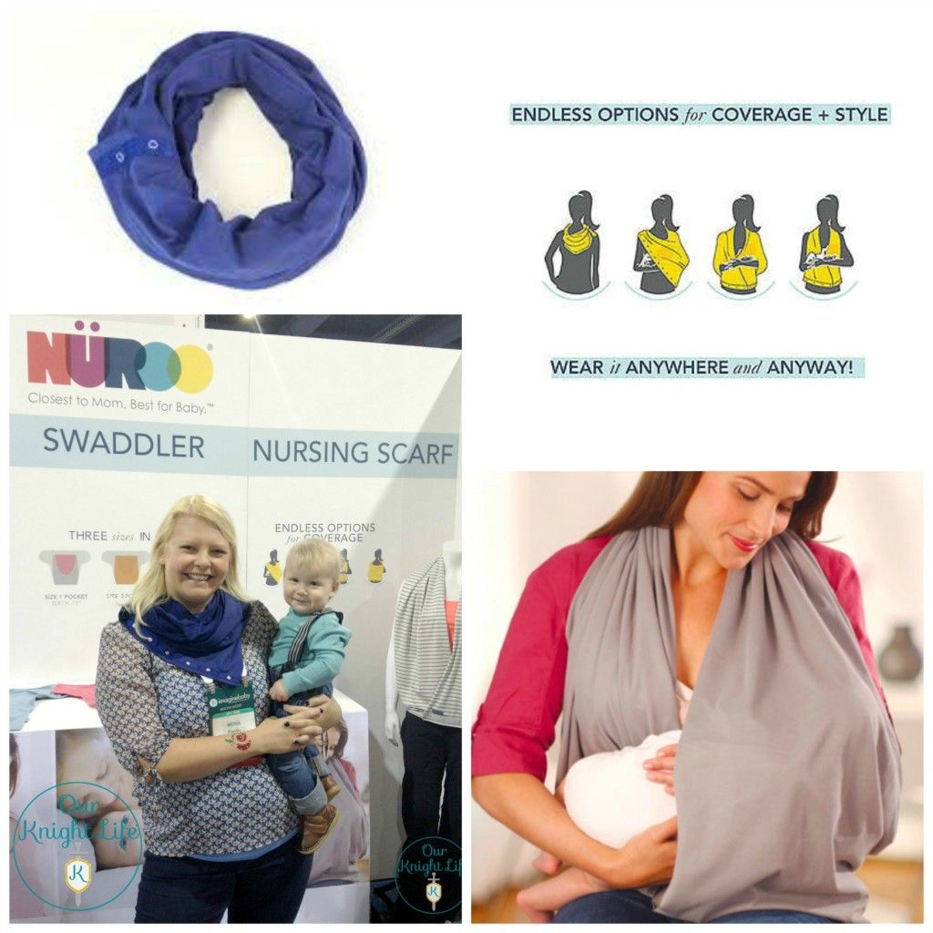 Nuroo Nursing Scarf Pretty Cool With Endless Options For Coverage